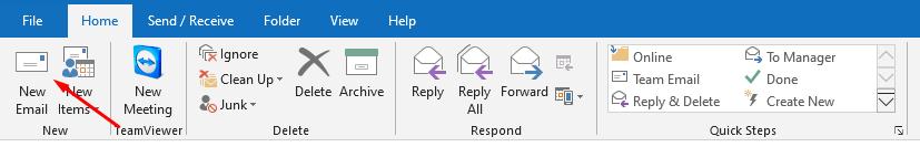 การสร้างลายเซ็นต์อัตโนมัติใน Outlook 2013 ขึ้นไป
